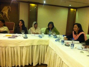 Consultation with NCSW Pakistan, NCSW Nepal and NSCW Pakistan. ASF participating as an EVAWG alliance member.